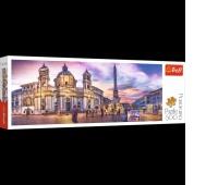 29501 500 Panorama - Piazza Navona, Rzym / 500px_L, Puzzle, Zabawki