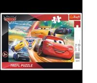 31277 15 Ramkowe - Walka o zwycięstwo / Disney Cars 3, Puzzle, Zabawki