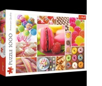 37142 500 - Panda / Trefl, Puzzle, Zabawki
