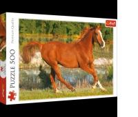 37184 500 - Piękno galopu / INTERLITHO, Puzzle, Zabawki