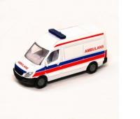 S0809_06000 Siku 08 - Van ambulans_wer. polska, Zabawki