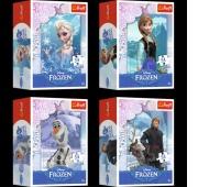 54141 54 Mini - Kraina Lodu / Disney Frozen, Puzzle, Zabawki