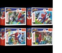 54164 54 mini - Czas na Spider-Mana / Disney Marvel Spiderman, Puzzle, Zabawki