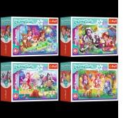 54167 54 mini - Wesoły dzień Enchantimals / Mattel Enchantimals, Puzzle, Zabawki
