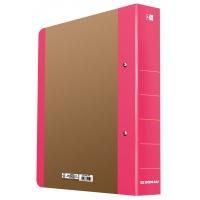 Segregator ringowy DONAU Life, A4/2RD/50mm, różowy, Segregatory ringowe, Archiwizacja dokumentów