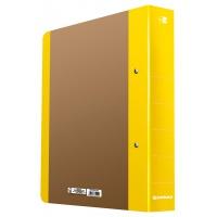 Segregator ringowy DONAU Life, A4/2RD/50mm, żółty, Segregatory ringowe, Archiwizacja dokumentów