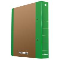 Segregator ringowy DONAU Life, A4/2RD/50mm, zielony, Segregatory ringowe, Archiwizacja dokumentów