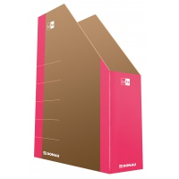 Pojemnik na dokumenty DONAU Life, karton, A4, różowy, Pojemniki na dokumenty i czasopisma, Archiwizacja dokumentów