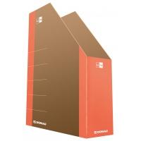 Pojemnik na dokumenty DONAU Life, karton, A4, pomarańczowy, Pojemniki na dokumenty i czasopisma, Archiwizacja dokumentów