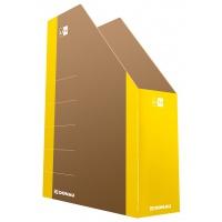 Pojemnik na dokumenty DONAU Life, karton, A4, żółty, Pojemniki na dokumenty i czasopisma, Archiwizacja dokumentów