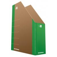 Pojemnik na dokumenty DONAU Life, karton, A4, zielony, Pojemniki na dokumenty i czasopisma, Archiwizacja dokumentów