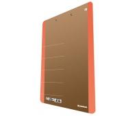 Cardboard clipoard DONAU Life, A4, with a clip, orange