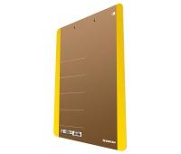 Clipboard DONAU Life, karton, A4, z klipsem, żółty, Clipboardy, Archiwizacja dokumentów