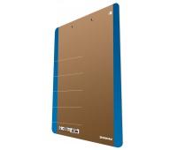Cardboard clipoard DONAU Life, A4, with a clip, blue