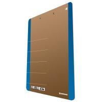 Clipboard DONAU Life, karton, A4, z klipsem, niebieski, Clipboardy, Archiwizacja dokumentów