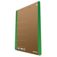 Clipboard DONAU Life, karton, A4, z klipsem, zielony, Clipboardy, Archiwizacja dokumentów
