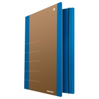 Cardboard folder with elastic band DONAU Life, 500gsm, A4, blue