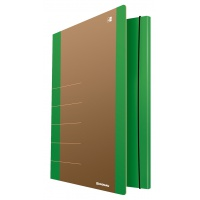 Cardboard folder with elastic band DONAU Life, 500gsm, A4, green