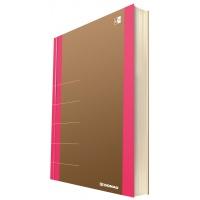Notatnik DONAU Life, organizer, 165x230mm, 100 kart., różowy, Notatniki, Zeszyty i bloki