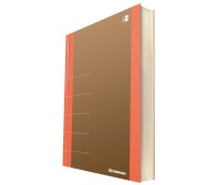 Notebook DONAU Life, organizer, 165x230mm, 80 sheets, orange