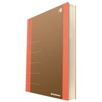 Notatnik DONAU Life, organizer, 165x230mm, 100 kart., pomarańczowy, Notatniki, Zeszyty i bloki