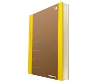 Notebook DONAU Life, organizer, 165x230mm, 80 sheets, yellow