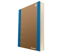 Notebook DONAU Life, organizer, 165x230mm, 80 sheets, blue