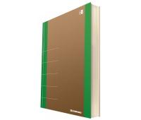 Notebook DONAU Life, organizer, 165x230mm, 80 sheets, green