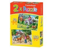 PUZZLE 2w1 HORSE RIDING 1062, Podkategoria, Kategoria