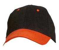 Czapka baseballowa Emerton, 100% bawełna, Czapki, Ochrona indywidualna