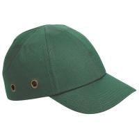 Czapka Duiker, wewnętrzne wzmocnienie, zielona, Czapki, Ochrona indywidualna