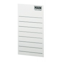Self-adhesive Labels for Storage Containers HAN, grey-white