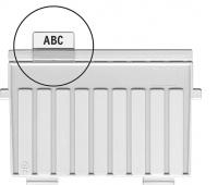 Indeksy do przekładek HAN Kartei, PVC, transparentne, Miniarchiwa i kartoteki, Archiwizacja dokumentów