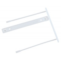 Archive Clips Q-CONNECT Z-Clip, file thickness max. 7cm, white