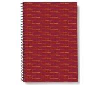 Spiral Notebook LIDERPAPEL Multi, A4, square ruled, 140sheets, 70gsm, perforation