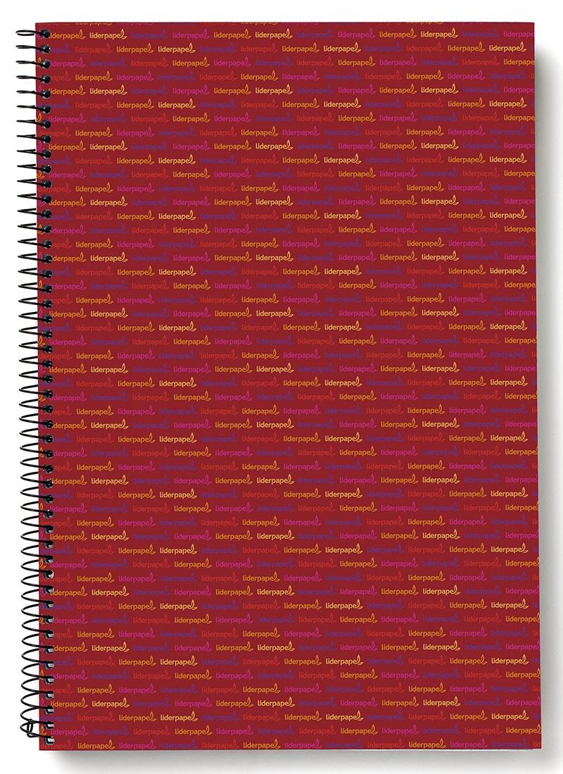 Kołonotatnik LIDERPAPEL Multi, A4, w kratkę, 140 kart., 70gsm, perforacja, Kołonotatniki, Zeszyty i bloki