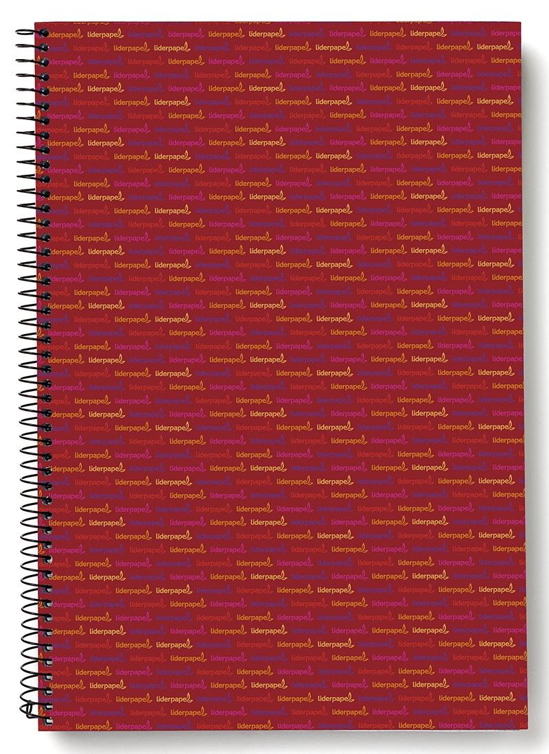 Kołonotatnik LIDERPAPEL Multi, A5, w kratkę, 140 kart., 70gsm, perforacja, Kołonotatniki, Zeszyty i bloki