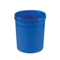 Kosz na śmieci HAN Grip, PP, 18l, niebieski, Kosze plastik, Wyposażenie biura