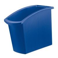 Kosz na śmieci HAN Mondo, PP, 18l, niebieski, Kosze plastik, Wyposażenie biura
