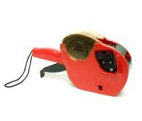 Metkownica APLI, dwurzędowa, 10 znaków, czerwona, Metkownice, Urządzenia i maszyny biurowe