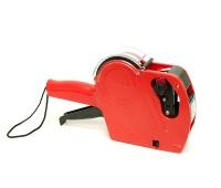 Metkownica APLI, jednorzędowa, 8 znaków, czerwona, Metkownice, Urządzenia i maszyny biurowe