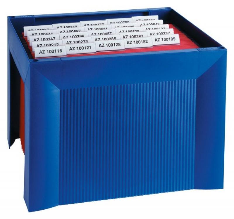 Mini archiwum HAN Karat, polistyren, niebieskie