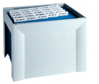 Mini Archive File Box HAN Karat, poystyrene, grey