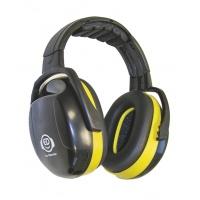 Nauszniki na głowę ED 2H, 30dB, żółte, Nauszniki, Ochrona indywidualna