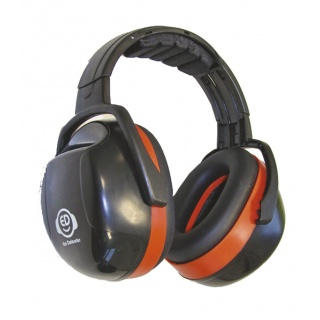 Nauszniki na głowę ED 3H, 33dB, pomarańczowe, Nauszniki, Ochrona indywidualna