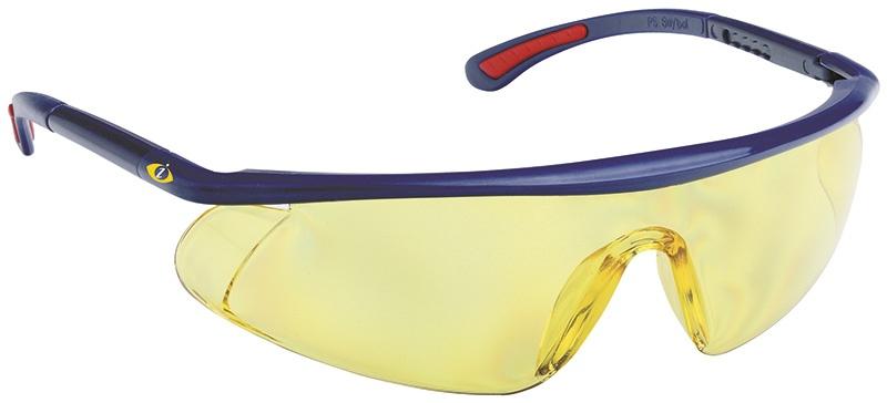 Okulary ochronne Barden, UV, żółte, Okulary, Ochrona indywidualna