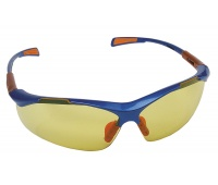 Safety Spectacles Nellore, glass 1F - UV, yellow