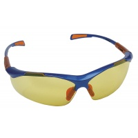 Okulary ochronne Nellore, szyba 1F - UV, żółte, Okulary, Ochrona indywidualna