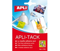 Adhesive Putty APLI Apli-Tack, block, 57g, blue