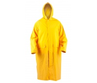 Protective Coat econ. RainMan (BE-06-001), hoodedm polyester, size XXL, yellow